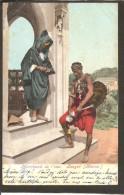 Maroc-Tanger-Marchand De L'eau. Timbre Deutsches Reich Marocco-1905 - Tanger