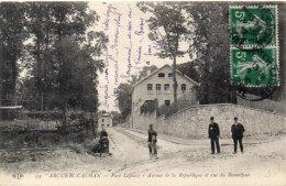 ARCUEUIL-CACHAN - Parc Laplace - Avenue De La République Et Rue Beauséjour   (92630) - Arcueil