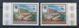 Congo N°795 Et 796** Hôtel Inter-Continental - République Démocratique Du Congo (1964-71)