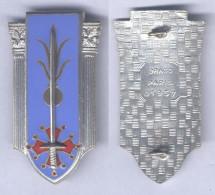 Insigne De L´Ecole Militaire De L'Infanterie - Montpellier - Armée De Terre