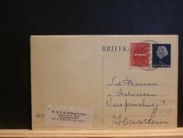 64/029  BRIEFKAART 1958  MET BIJFR. - Postal Stationery