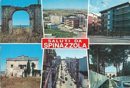 SALUTI DA SPINAZZOLA (BA) - VEDUTINE - F/G - V: 1978 - Italien
