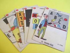 Jeux Des 7 Familles /Offert Par Delespaul /Bémol-Lebois-Arcenciel-Lefer-Bonneterre-Letisserand-Jelis-/Vers 1950   CAJ3 - Group Games, Parlour Games