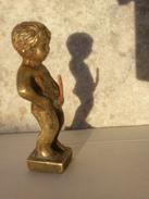 Manneken-pis Bruxelles Statuette érotique Coquine  Brussel  Sceau Cachet Cire : EM. Franc-maçon? Franc-maçonnerie ? - Bronces