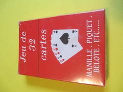 Jeux 32 Cartes/32 Playing Cards/32 Karten Spiel/B&G International Chalon Saone/Manille-Piquet-Belotte/etc/Vers 1950 CAJ4 - Jeux De Société