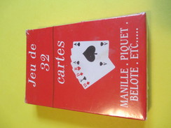 Jeux 32 Cartes/32 Playing Cards/32 Karten Spiel/B&G International Chalon Saone/Manille-Piquet-Belotte/etc/Vers 1950 CAJ4 - Group Games, Parlour Games