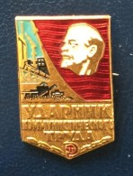 Shock Worker Of Communist Labor, Russia - Badges