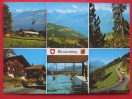 Beatenberg (BE) - Mehrbildkarte / Autobus - BE Bern