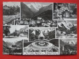 "Interlaken (BE) - Mehrbildkarte ""Interlaken U. Jungfrau"" - BE Berne"