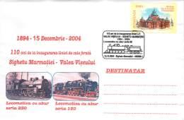 Romania  Briefumschlag  Lokomotiva Serie 230 + 150  Mit SST - Treinen