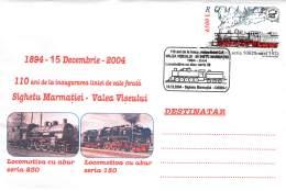 Romania  Briefumschlag  Locomotiva Seria 230 + 150 Mit SST - Treinen