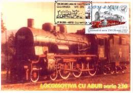 Romania  Maximumkarte Locomotiva Seria 230 Mit SST - Treinen