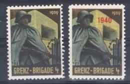 FP 96 - SUISSE FELDPOST Troupe Des Frontières GRENZ-BRIGADE 4 - 1939 + 1940 - Poste Militaire