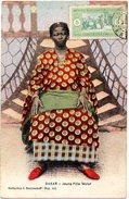 CPA SENEGAL ( Afrique Occidentale Francaise ) - DAKAR - Jeune Fille Wolof ( Colorisé ) - Sénégal