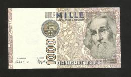ITALIA - 1000 Lire Marco Polo - Firme: Ciampi / Speziali - Repubblica Italiana - 1000 Lire