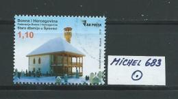 BOSNIEN HERZEGOWINA MICHEL 683 Gestempelt Siehe Scan - Bosnien-Herzegowina