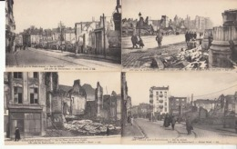 Dep  02 -Lille Aprés Le Bombardement  20  Cartes   : Achat Immédiat - Lille