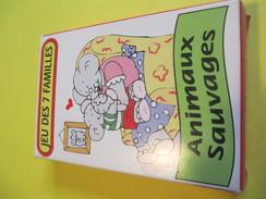 """Jeux Des 7 Familles /""""Animaux Sauvages""""/Royale-Rayures-Grimaces-etc/Cofalu Kim'play/La Bréde France/Vers1990       CAJ11 - Group Games, Parlour Games"""