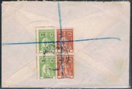 Angola, 1918, Para Pretoria - Angola