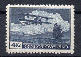 CZECHOSLOVAKIA 1930  AIR  , MNH , PERFORATION   12 1/4   TYPE I. - Czechoslovakia