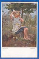 Malerei; Süss Josef; Blumenfee; Galerie Wiener Künstler Nr 554 - Suess, Josef