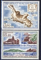 TAAF Posta Aerea 1988 Serie N. 100-101 MNH Catalogo € 9,90 - Posta Aerea