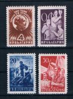 Bulgarien 1949 Mi.Nr. 712/15 Kpl. Satz ** - Ongebruikt