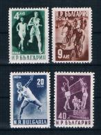Bulgarien 1950 Sport Mi.Nr. 749/52 Kpl. Satz ** - 1945-59 People's Republic