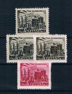 Bulgarien 1952 Kraftwerke Mi.Nr. 821/22 Kpl. Satz ** - Ungebraucht