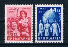 Bulgarien 1955 Tag Der Arbeit Mi.Nr. 948/49 Kpl. Satz ** - Ongebruikt