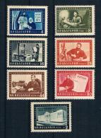 Bulgarien 1955 Mi.Nr. 950/56 Kpl. Satz ** - Ongebruikt