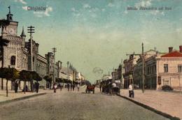 CHISINAU [ MOLDAVIE / ROUMANIE ] - STRADA ALEXANDRU CEL BUN - ANNÉE / YEAR ~ 1920 - '25 (v-2253) - Moldavie