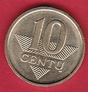Lituanie - 10 Centu 2008 - Lithuania