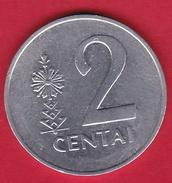 Lituanie - 2 Centai 1991 - Lituania