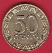 Lituanie - 50 Centu 1999 - Lituanie