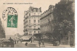87        Limoges       Petit Lycée  & Central Hotel - Limoges