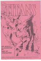 COMICS , Supplement à La Revue TITANS N° 206 Mars 1996 -mcg 19