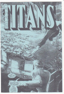 COMICS , Supplement à La Revue TITANS N° (illisible !) 1995 -mcg 16 - Livres, BD, Revues