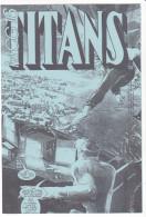 COMICS , Supplement à La Revue TITANS N° (illisible !) 1995 -mcg 16