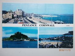 Postcard Multiview Penzance Cornwall My Ref B1187 - England
