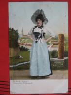 Bern (BE) - Costume Bernois / Berner Tracht / Bahnpost - BE Bern