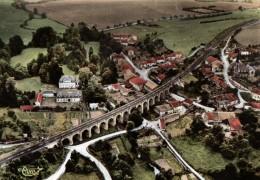 Thonne Les Prés ( 55 - Meuse ) Vue Aerienne - Viaduc Et Château ( Circulé En 1971) - Unclassified