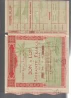 Obbligation Ancienne :  Exposition Coloniale Internationale Paris 1931 Cod.doc.234 - Trasporti