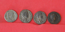 ROMAN    - 4 PIECES TO IDENTIFY   KM#  - (Nº16817) - Münzen & Banknoten