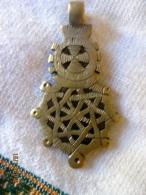Croix éthiopienne - Type Gondar - Bijoux & Horlogerie