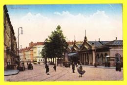 * Gent - Gand (Oost Vlaanderen) * Zuidstatie, Zuid Station, Railway Station, Bahnhof, Gare, Animée, Tram, Vicinal - Gent
