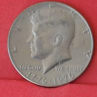 USA 1 HALF DOLLAR 1976 -    KM# 205 - (Nº16825) - Federal Issues
