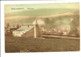"""Heer Agimont Panorama  ( Le Train """" Image Floue """" Est De Passage ) - Hastière"""