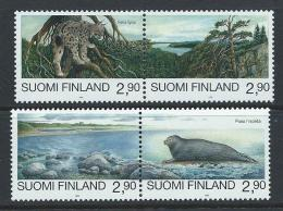 Finland 1995 - Joint Issue With Russia - Set In 2 X Se-tenant Composite Pairs SG1387a & 1389a MNH Cat £8.80 SG2015 - Finnland