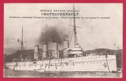 CPA Militaria - Marine De Guerre - Croiseur Cuirassé Châteaurenault - Guerra